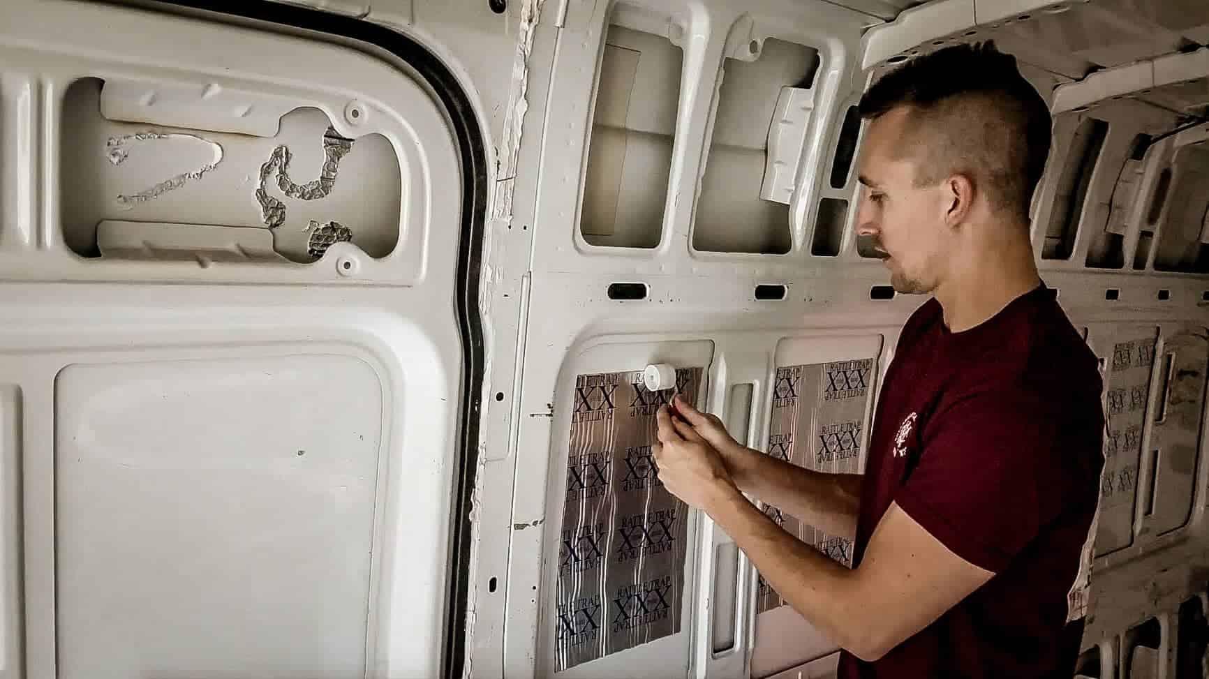 Soundproofing a Campervan-10