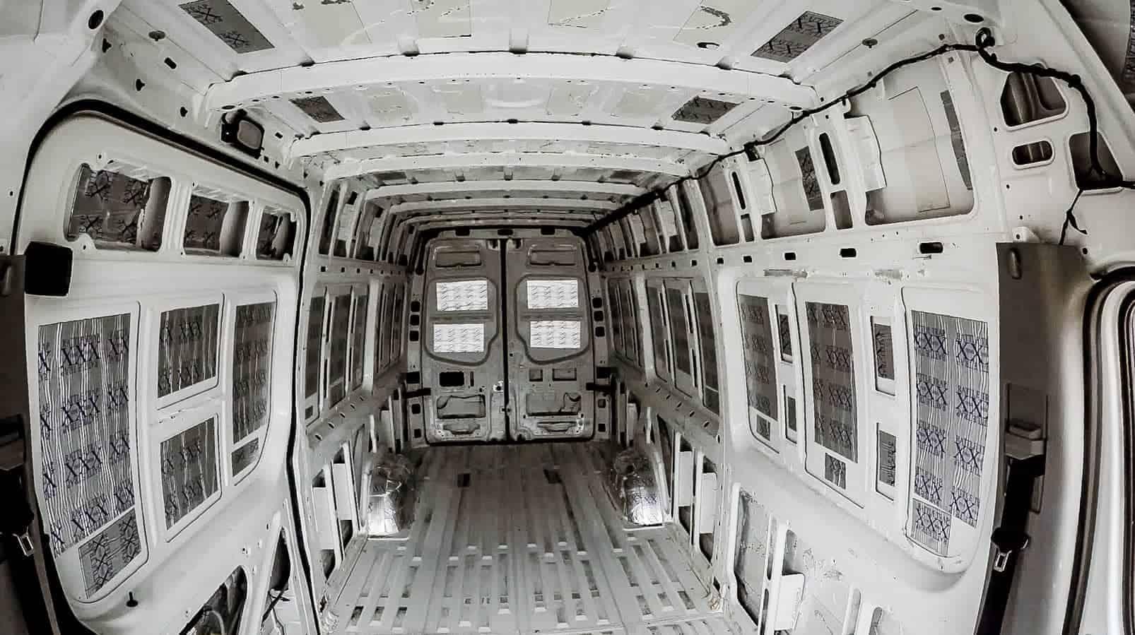 Soundproofing a Campervan-11