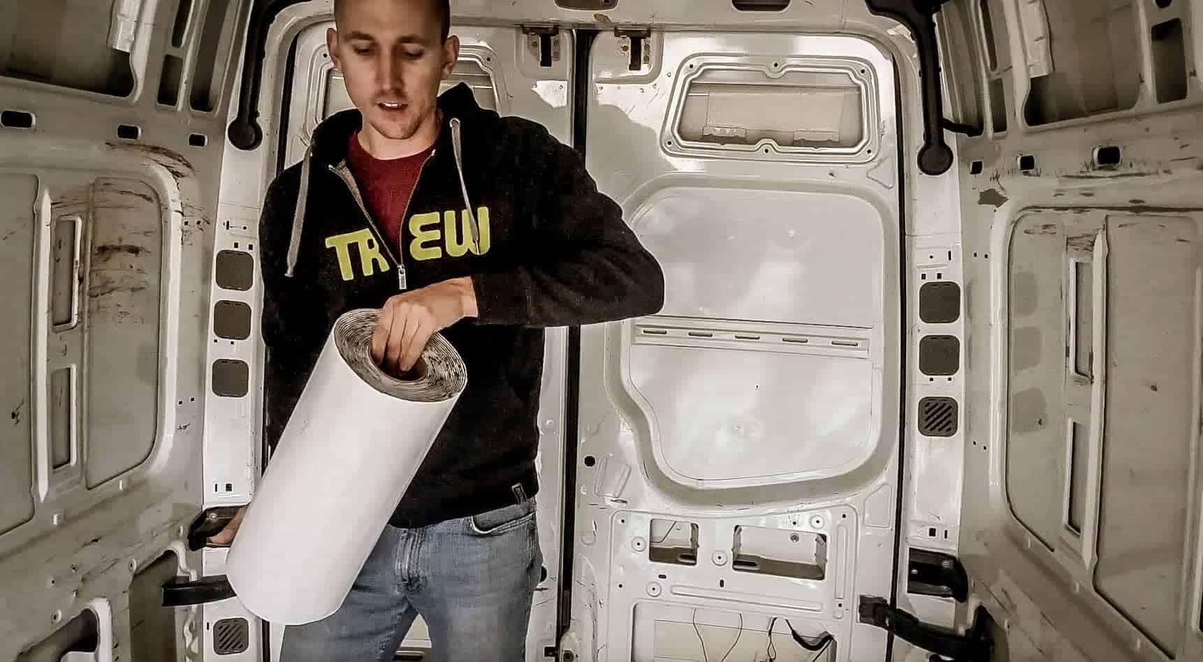 Soundproofing a Campervan-2