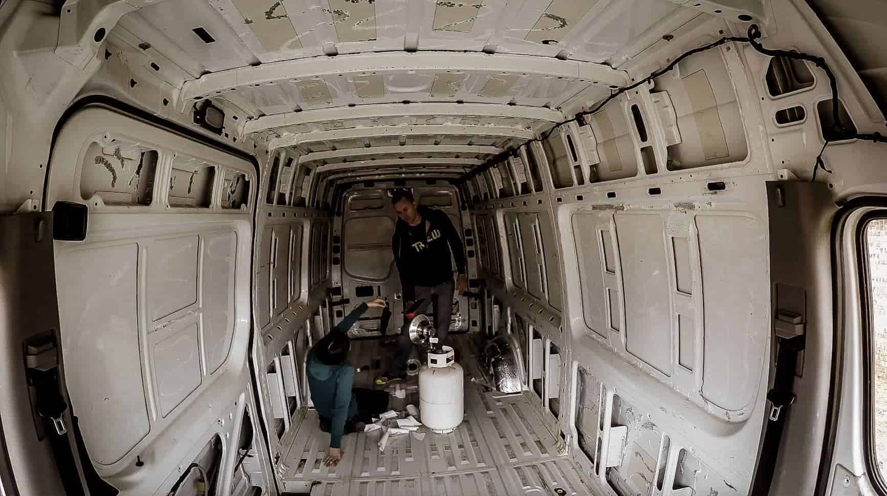 Soundproofing a Campervan-6
