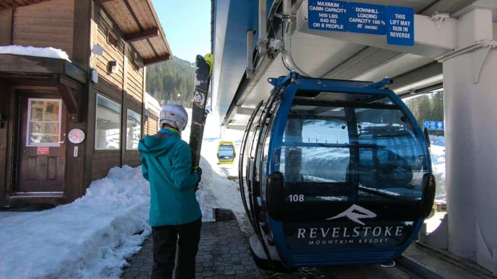 Revelation Gondola at Revelstoke