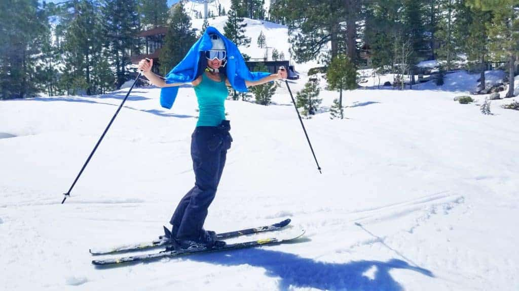 Spring Skiing at Squaw Valley