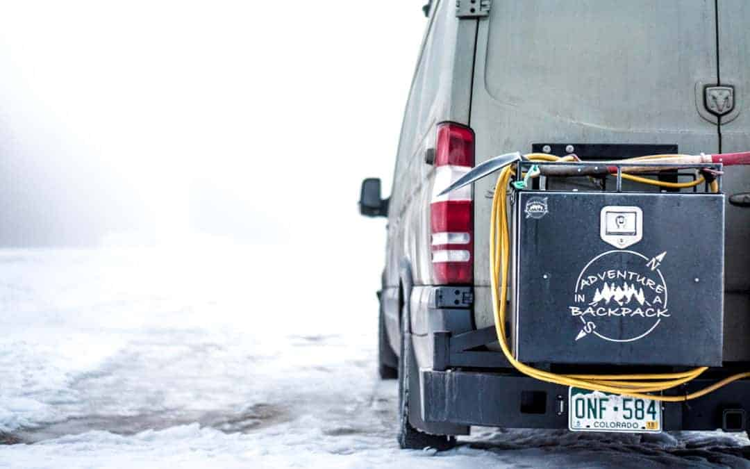 Winter Van Life at Revelstoke, British Columbia