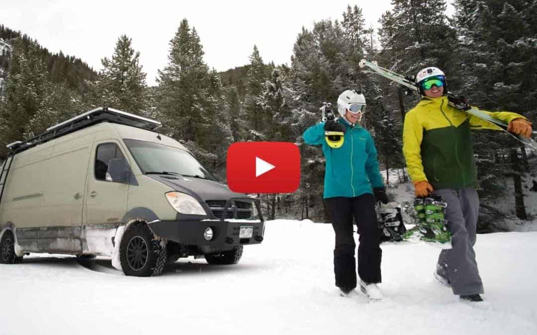 Ep 1 – Jackson Hole | Winter Vanlife is More than Skiing Powder