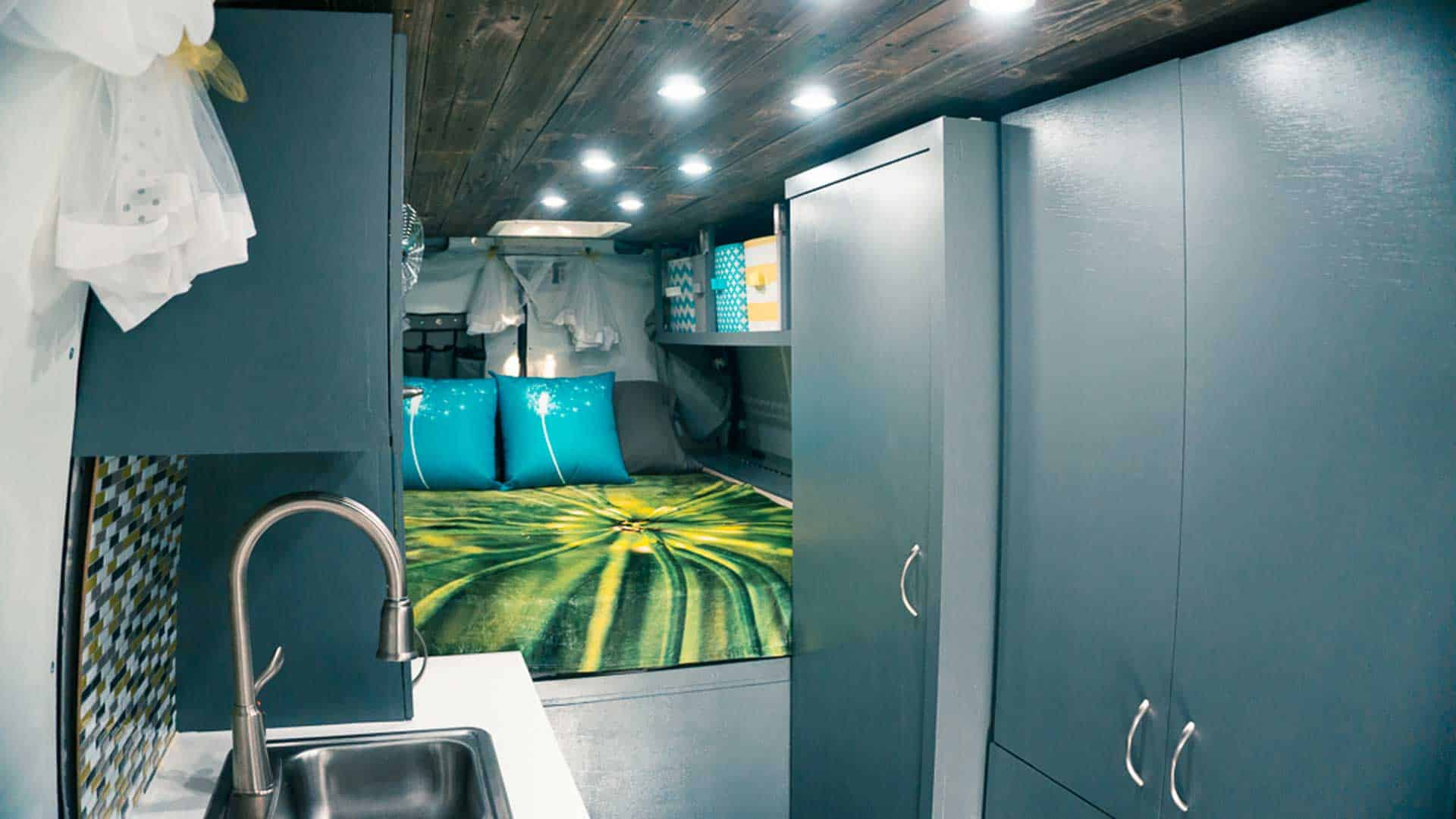 Building DIY Camper Van Cabinets