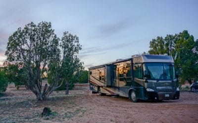 Free Dispersed Campsite in Escalante Utah