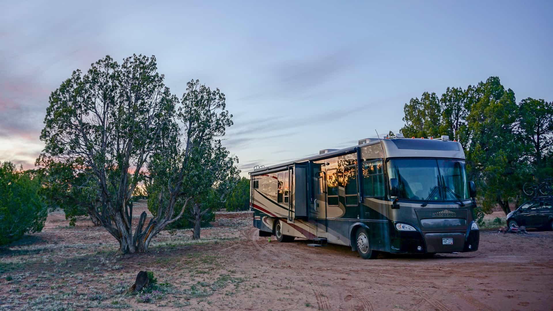 Free Dispersed Campsite in Escalante Utah