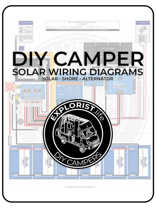 50A OEM RV Solar Retrofit Wiring Diagram