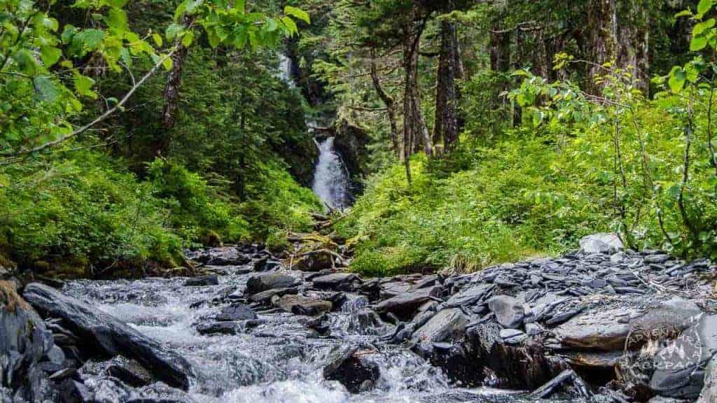 Waterfalls in Whittier